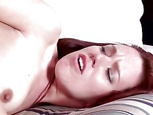 Teen Redhead Moans As She Fucks