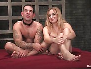 Torture And Pegging Inside Female Domination Bound Movie Around
