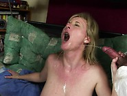 Nasty Blonde Mom With Big Natural Hooters Gets Fucked Hard By Tw