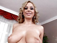 Horny Mandy Dee Showing Off Her Meaty Jugs To Tease Everyone