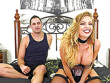 Britney Amber Is In Need Of A Handsome Lover's Hard Prick