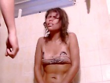 Gut Punch The Cutie In The Shower
