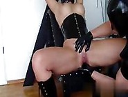 Femdom Finger Fucking And Gimp Is There
