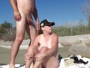 Sex On Public Beach - Sexy Outdoor Milf Fucking