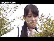 Japan Sweetie Gets Sex In The Public Park
