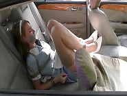 Maid Tied Up In A Car