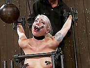 Cute Lorelei Lee Gets Tortured And Toyed By A Machine