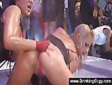 Pornstars Hosting An Orgy At The Club