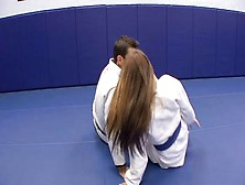 Karate Lesson For This Horny Chick Turns Into A Great