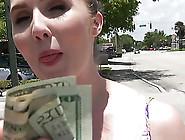 Big Tit Local Slut Lena Paul Takes Money To Have Sex At Public P