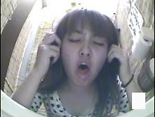 Sick Girls Vomit Puke Puking Vomiting Gagging In Toilet