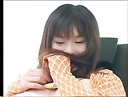 Shapely Japanese Gal Acquires Creampie