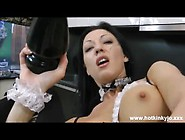Hotkinkyjo - Pingpong Balls In Ass & Huge Anal Plug