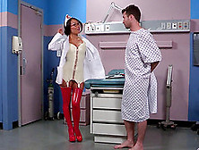 Handsome Patient Cannot Resist An Asian Nurse's Dick Craving Bod