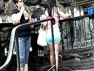 Short Bubble Ass Dominican Tight Shorts