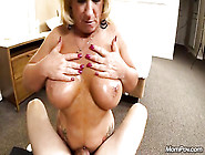 Pov Porn Casting With Big Titted Pump Mature Blonde