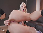 Vittoria Dolce Butt Fucking With A Black Monster