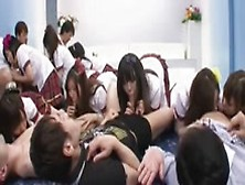 Japanese School Girls Practice Sex