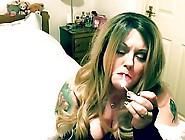 Merry Xmas Chain Smoking - Bbw Fetish
