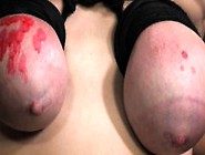 Ballgagged Tied Up Fetish Sub Wax Play