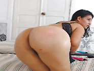 Nice Homemade Solo With Me Fucking My Bumhole With A Dildo