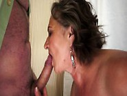 Big Breasted Granny Touches Herself And Gets Pounded By A Young