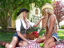 Girls From The Country Know How To Share Cock