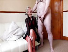 Real Amateur Cfnm - Made To Strip An Wank For Hot Milf Ammy