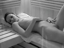 Petite Amateur Girl In The Sauna