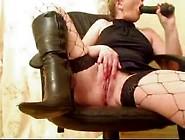 Dirty Milf Slut Squirting And Masturbating On Webc