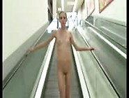 Public Facial Walking Nude In Supermarket