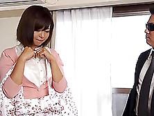 Ardent Blowjob From Sexy Japanese Maid Sayuki Kanno