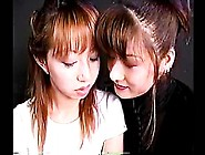 Deep Hard Kiss Japanese Girls With Long Tongue