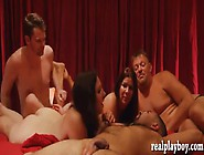Group Of Horny Swingers Massive Groupsex