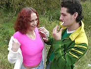 Wendy In Handsome Cutie Gets Fucked In The Park Really Hard