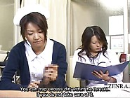 Subtitle Cfnm Japanese Doctor Nurse Handjob