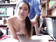 Skinny Asian Thief Jade Learns Her Lesson