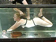 Chubby Blonde Jewel Gets Bound And Drowned And Enjoys It