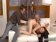 Erotic Young Couple Unexpected Practice With An Older Gentleman