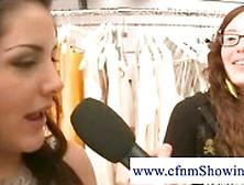 Cfnm Wanker Surprises Girls In Changing Room