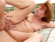 Mature Amateur Lady Sonja Gets Her Smooth Crotch Fucked Deep
