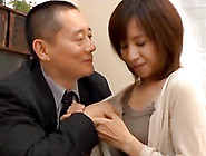 His Small Tits Japanese Milf Lover Strips To Get Laid