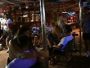 2 Drunk Girls Giving Lap Dances In Bar