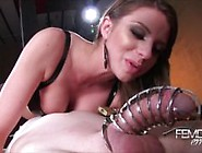 Brooklyn Chase Pantyhose Domination