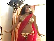 Sexy Indian Queen Strips And Dances In Front Of Camera