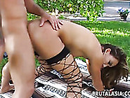Meaty Dick Feels So Good In Stretched And Deep Keanni Lei's Anal