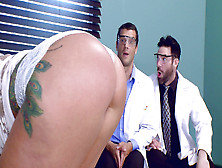 Ryan Conner Gets Her Big Ass Worshipped By Charles Dera And Ramo