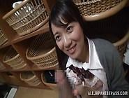 Young Schoolgirl Gets Big Handfuls