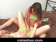 Natasha Shy And Blonde Teen Girlfriend Feel Naughty