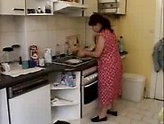 Horny Mature Redhead Lady Called A Plumber To Help Her And Blow